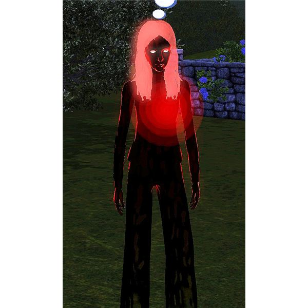 The Sims 3 vampire ghost