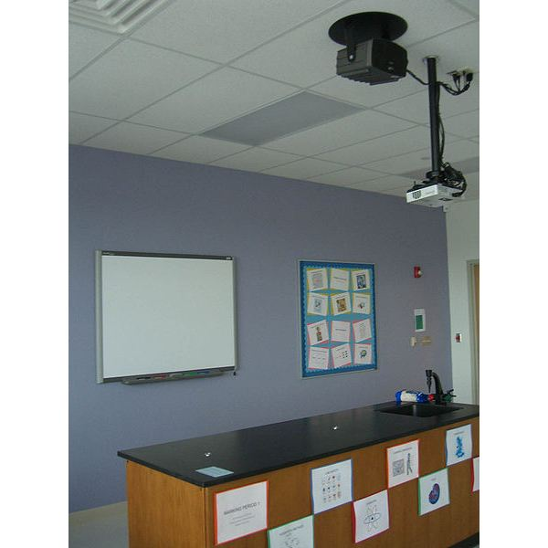 Teaching technology: Mounted Projector