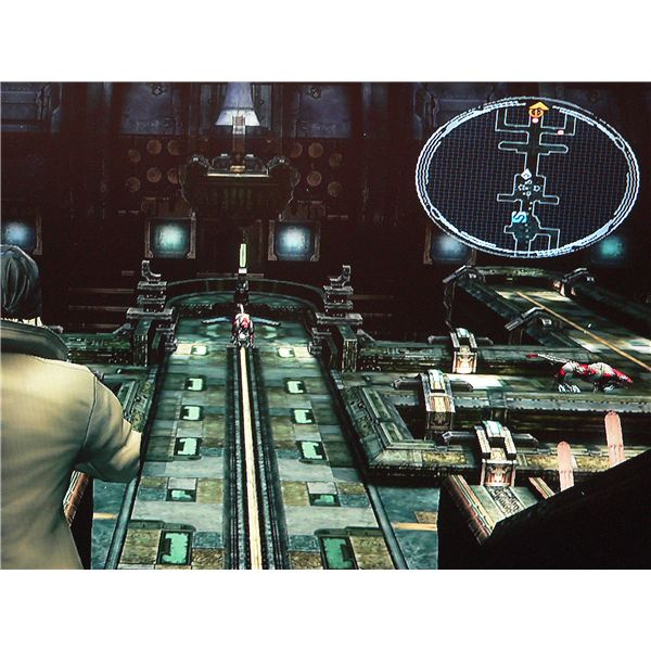 Final Fantasy XIII: The Pulse Vestige (look at the mini-map).