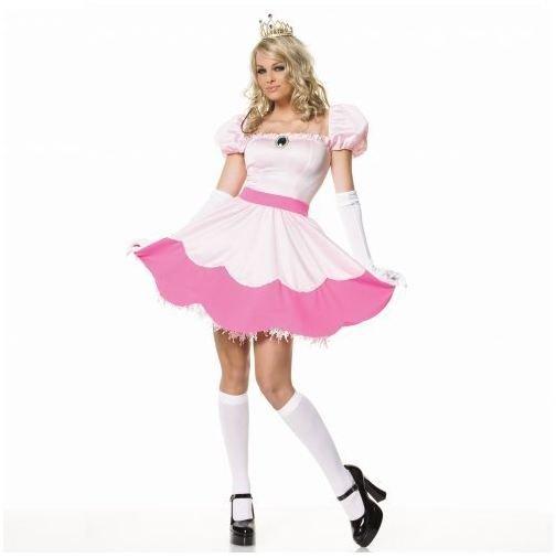 Nintendo character costume ideas for halloween make your own mario princess peach costume solutioingenieria Gallery