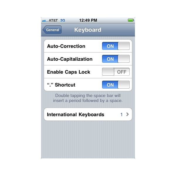 how to turn off autocorrect on iphone iphone guide using losing and adding to your iphone 20385