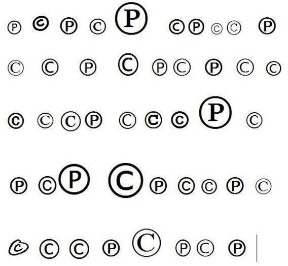 Copyright Symbol P Images Free Symbol Design Online