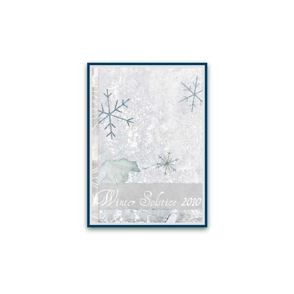 picture about Hewlett Packard Printable Cards named Free of charge, Printable Winter season Solstice Playing cards
