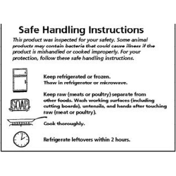 FSIS Safe Handling Instructions