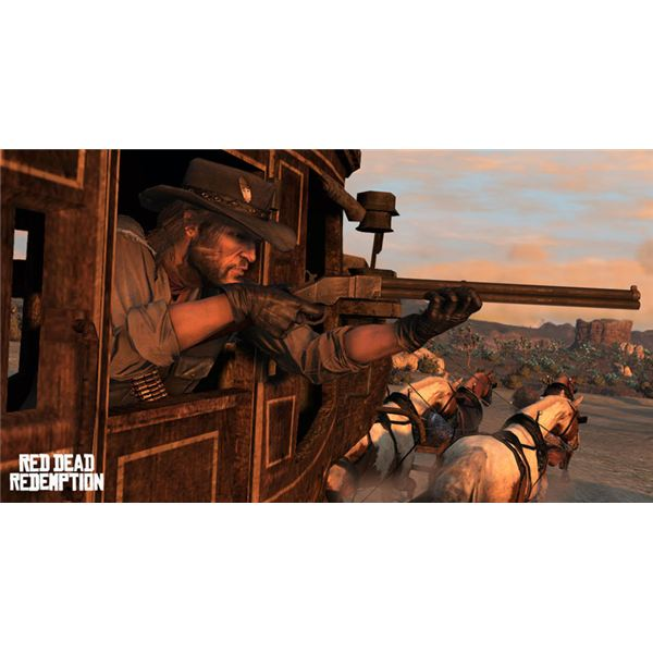 Red Dead Redemption unlockable weapons the repeater