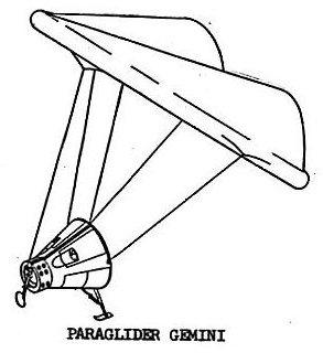 The paraglider landing concept