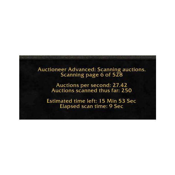 Auctioneer Scan