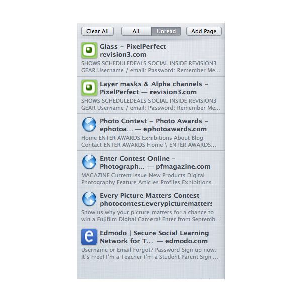 How to Use Safari's Reading List