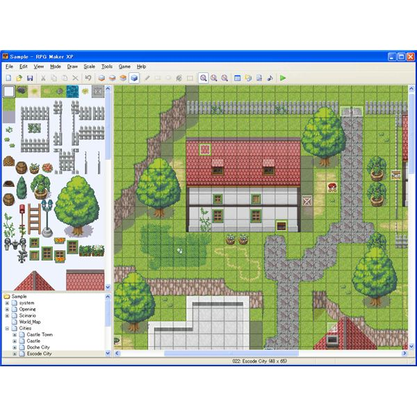 RPG Maker Interface