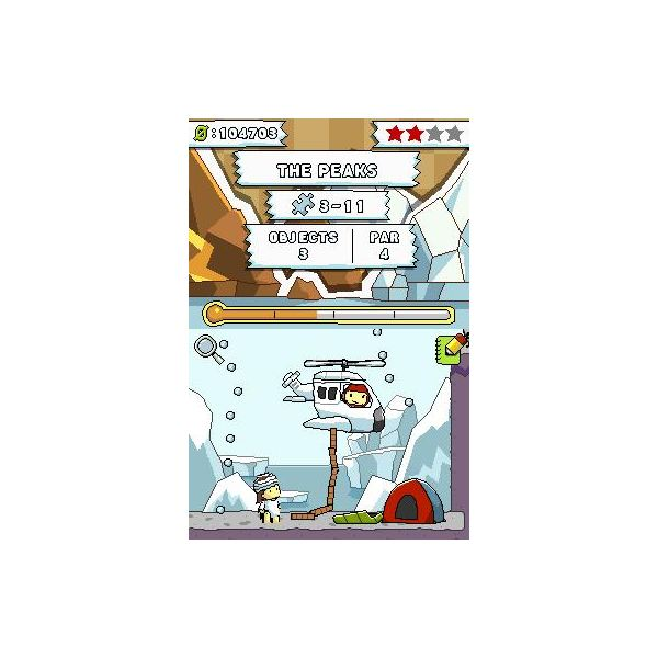 Not every puzzle in Scribblenauts is great, but those that are allow for seemingly infinite solutions.