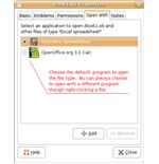 set file association in Gnome