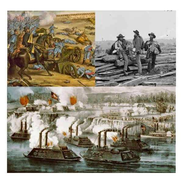 American Civil War Montage