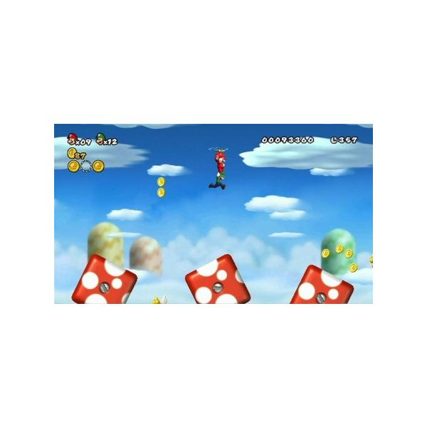Co-op in New Super Mario Bros. Wii