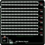 120 V LED Light Fixture Circuit Diagram, Image
