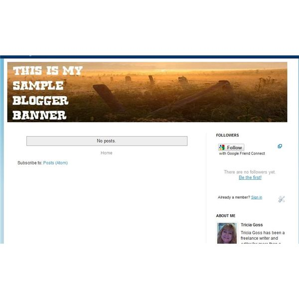 How to Create and Add Blogger Banners