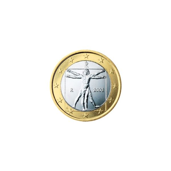 1 Euro Coin (Image Credit: Wikimedia Commons)