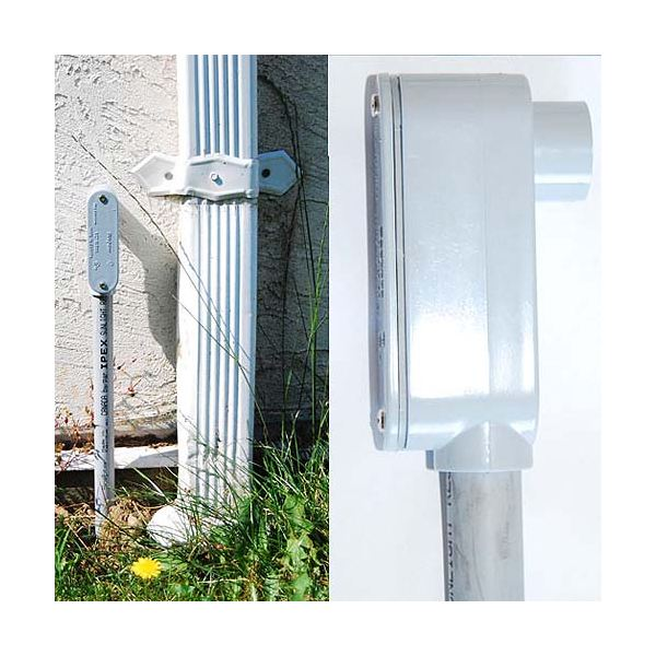 Fake Electrical Conduit Geocache Container