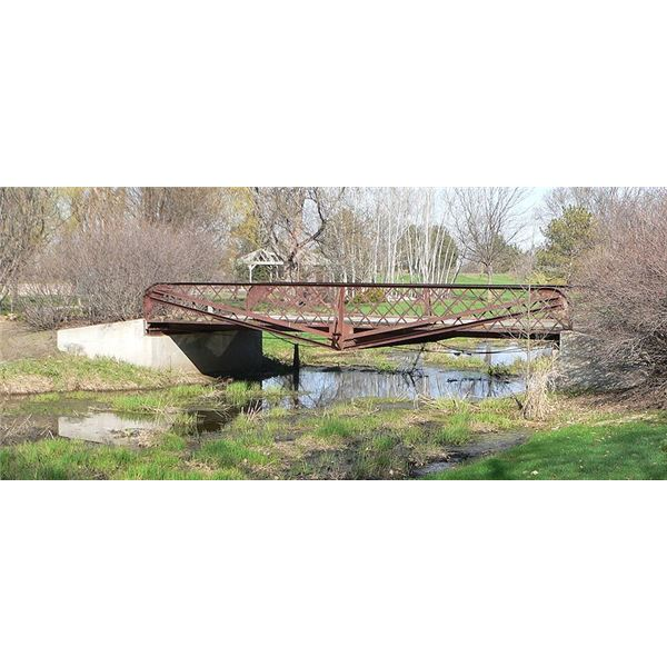 Lattice Truss Bridge Willow Creek Bridge Nebraska 1913