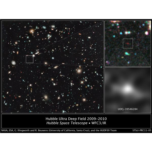 The Most Distant Object Ever Seen