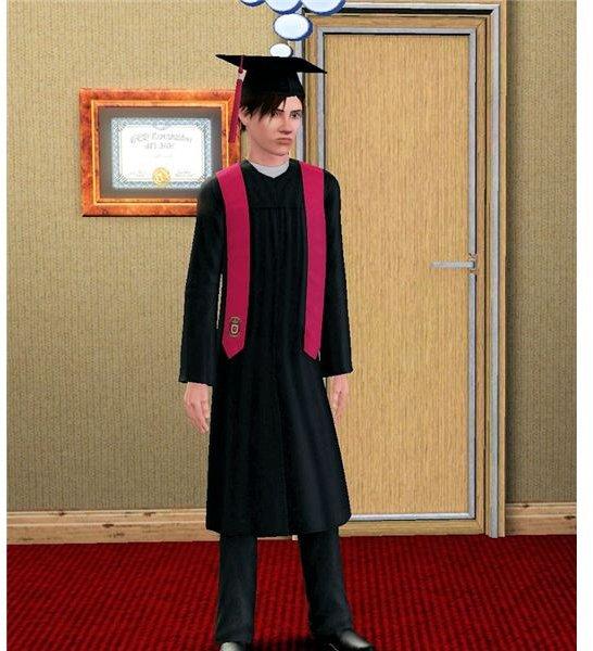 The Sims 3 boarding school graduation