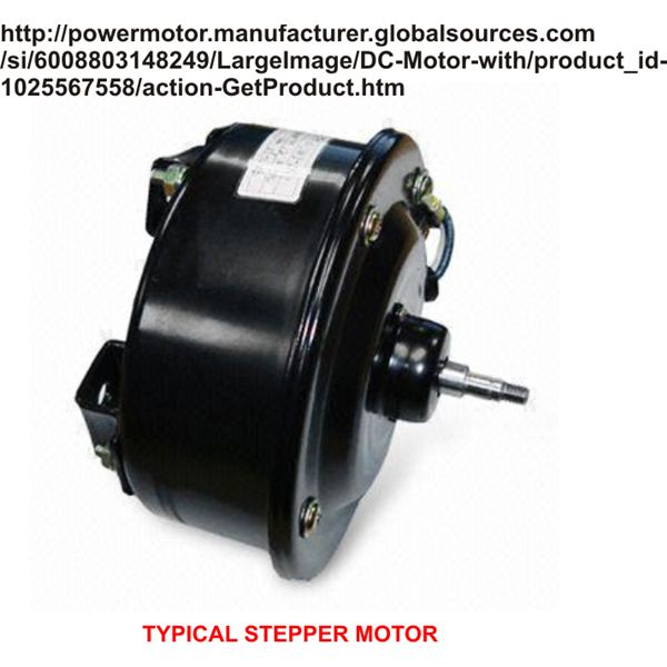 Typical Stepper Motor, Image