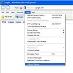 Figure 1: Disable IE8 Default Web Browser Check