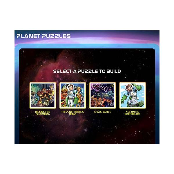 Planet Heroes - Online Puzzles