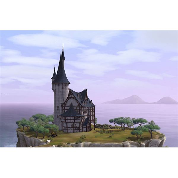 The Sims Medieval Wizard Tower