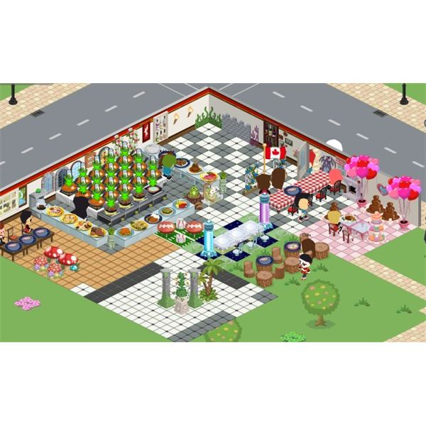 Teleport Cheat for Cafe World (Facebook): Layout C