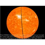 STEREO Image of the Sun Feb 2, 2011