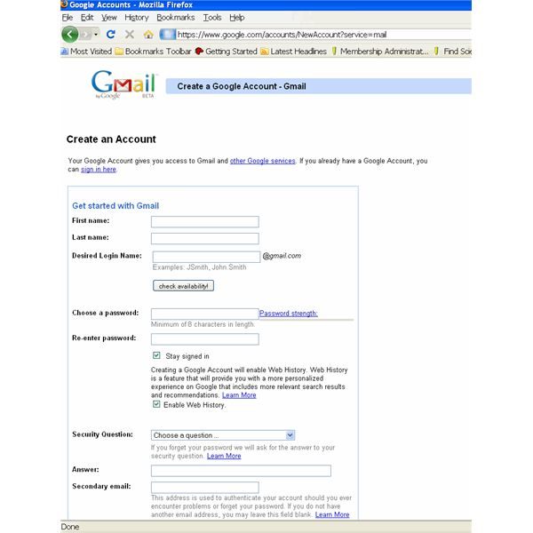 Account Find Gmail Here Up Out On Step-by-step How Instructions To Set - A Google
