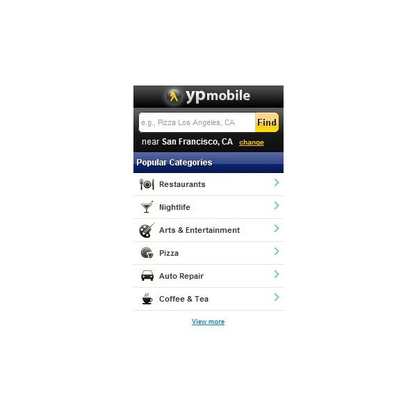 Yellow Pages Mobile