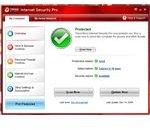 UI of Trend Micro Internet Security