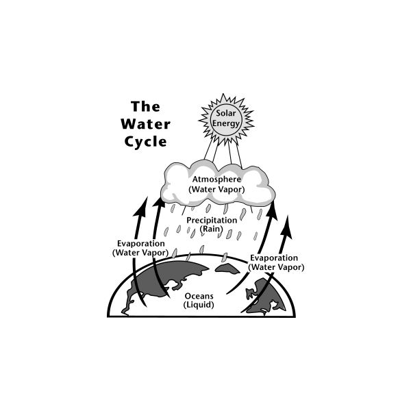 Principle of Hydropower Generation. How is hydropower generated? What is Water Cycle