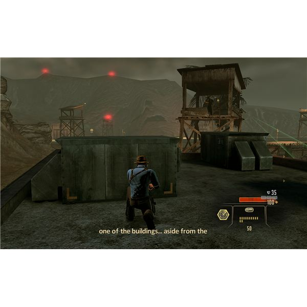 Alpha Protocol Walkthrough - Using a Silenced Pistol to Take Out the Tower Guards