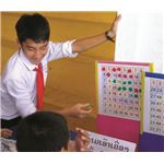 Number bingo improves math skills LPB Laos