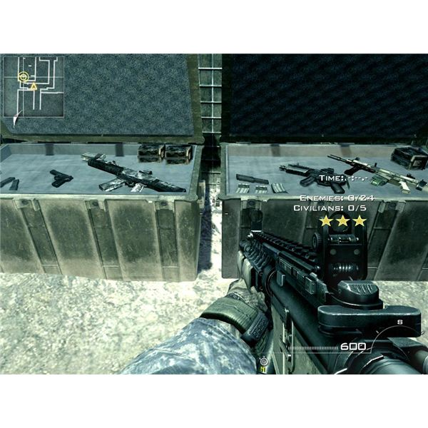 weapons in MW2