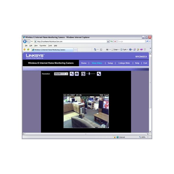 How to View a Wireless Home Security Camera Through the Internet