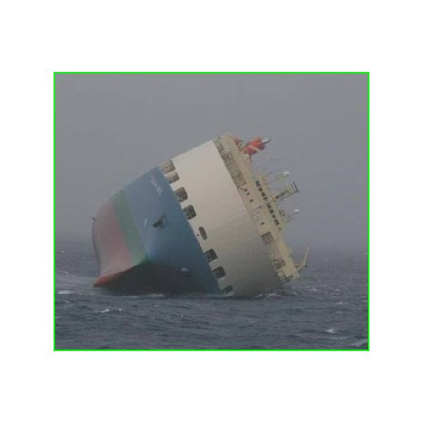 Why Doesn't a Ship Capsize when it Rolls?