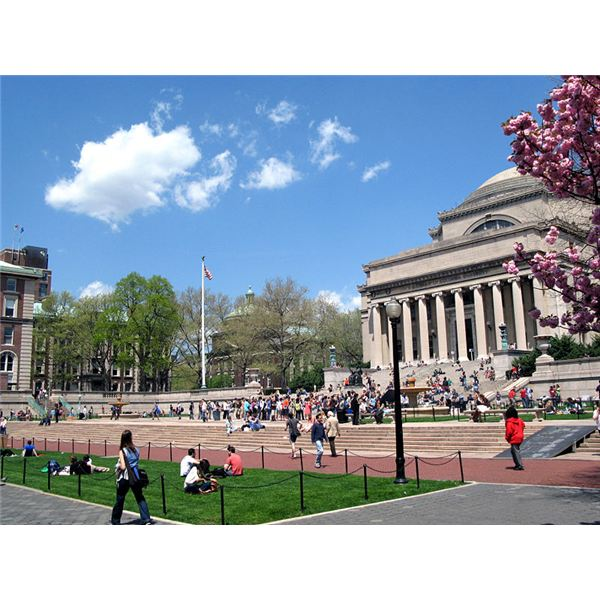 Columbia University Campus (Image Credit: Wikimedia Commons)