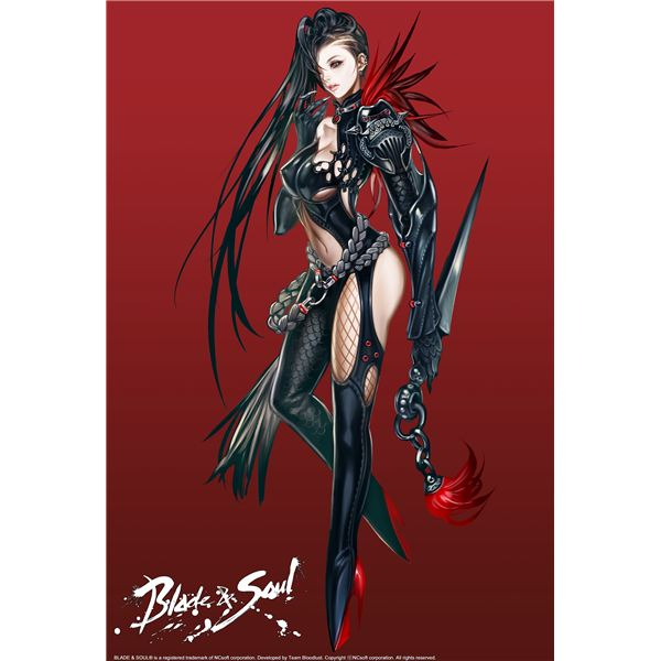 Blade N Soul Anime Characters : Blade and soul preview