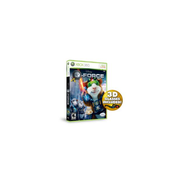 G-Force the Video Game for the Xbox 360: What You Need To Know About This Cute and Cuddly Little Game