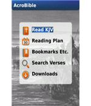 AcroBible KJV -Blackberry application-pic