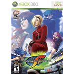 A shot of the Xbox 360 Box of KoF XII