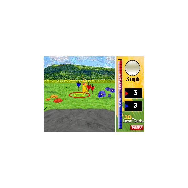 3D Lawn Darts Main Display