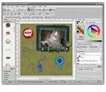 Sample Project in Digital Scrapbook Artist
