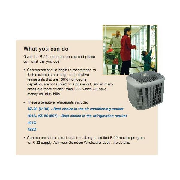 R22 Replacement Options  R22 Alternative Refrigerants