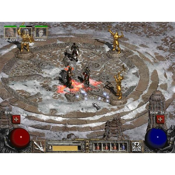 Diablo 2's Isometric View Looking a Little Dated