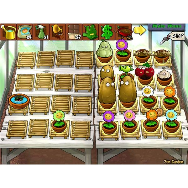 Plant vs. Zombies: Guide to Zen Gardening and Strategy Tips to Help by Using the Mushroom Garden, Wisdom Tree, Chocolate, and the Stinky Snail