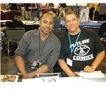 Michael Olmos and Bob Layton